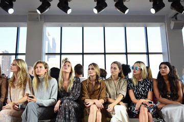 Olivia Palermo Jessica Hart Michael Kors  Spring 2015 Fashion Show - Front Row