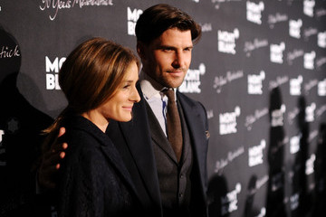 Olivia Palermo Johannes Huebl Montblanc Celebrates 90 Years of the Iconic Meisterstuck