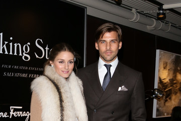 Olivia Palermo Johannes Huebl Ferragamo And Stefano Tonchi Present A VIP Screening Of Premier Film Walking Stories