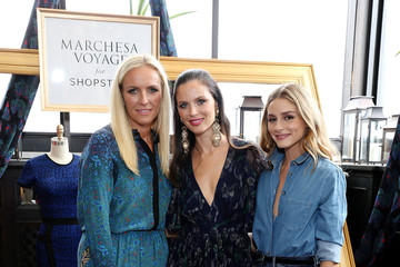 Olivia Palermo Keren Craig An Exclusive Preview Of The Marchesa Voyage For ShopStyle Collection