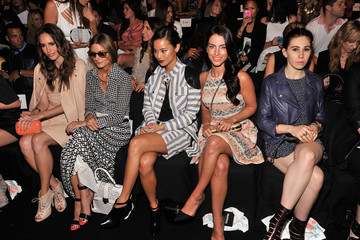 Olivia Palermo Louise Roe MBFW: Front Row at Rebecca Minkoff