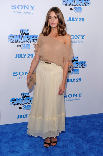 "Olivia Palermo Olivia Palermo attends the premiere of ""The Smurfs"" at the Ziegfeld Theater on July 24, 2011 in New York City."