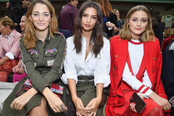 Olivia Palermo Valentino: Front Row - Paris Fashion Week Womenswear Spring/Summer 2018