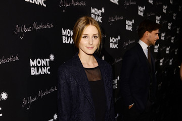 Olivia Palermo Montblanc Celebrates 90 Years of the Iconic Meisterstuck