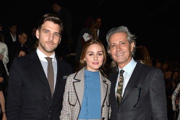 Olivia Palermo Front Row at Valentino