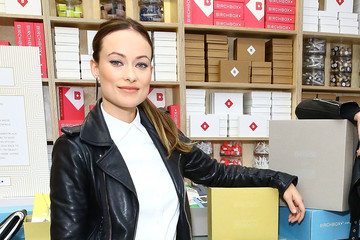 Olivia Wilde Olivia Wilde Co-Hosts Event At Birchbox Soho In Celebration Of Conscious Commerce + Birchbox Collaboration