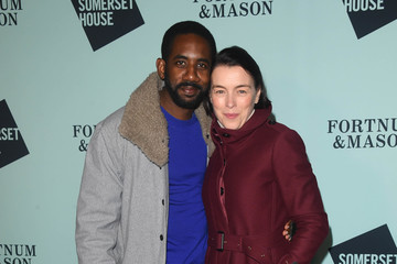 Olivia Williams Skate At Somerset House With Fortnum And Mason VIP Launch - Red Carpet Arrivals