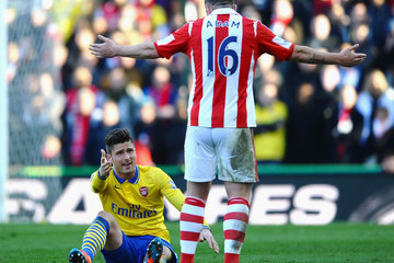 Olivier Giroud Stoke City v Arsenal - Premier League