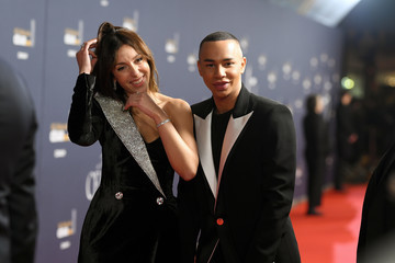 Olivier Rousteing Red Carpet Arrivals - Cesar Film Awards 2020 At Salle Pleyel In Paris