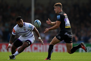 Ollie Devoto Exeter Chiefs vs. Leicester Tigers - Gallagher Premiership Rugby
