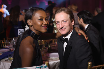 Oluchi Onweagba Inside the Angel Ball in NYC