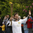 Gordon Smart The Olympic Flame Continues Its Journey Around The UK