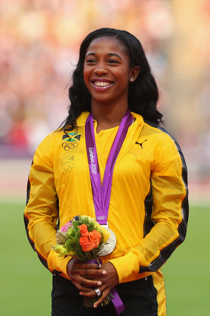 ¿Cuánto mide Shelly-Ann Fraser Pryce? - Altura - Real height Olympics+Day+13+Athletics+Og89P-zTg-Rx