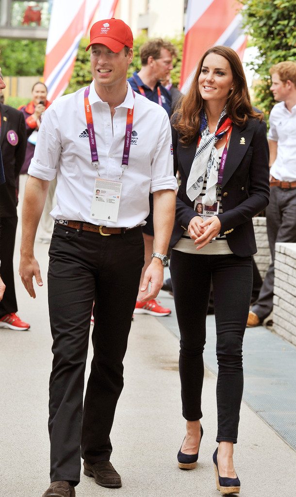 Kate Middleton and Prince William Photos Photos - Olympics ...