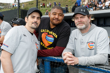 Omar Benson Miller Celebrities Attend Charity Softball Game To Benefit California Strong