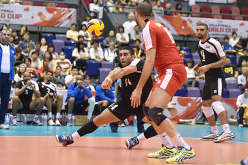 Omar Hassan Egypt v Canada - FIVB Men's Volleyball World Cup Japan 2015