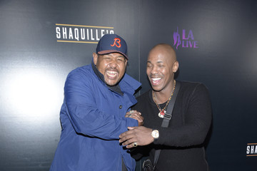 Omar Miller Grand Opening Of Shaquille's At L.A. Live