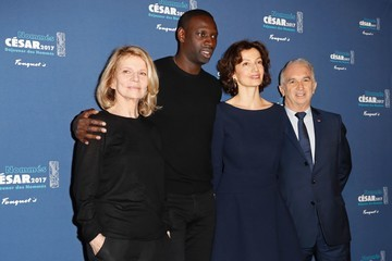 Omar Sy Cesar 2017 - Nominee Luncheon at Le Fouquet's