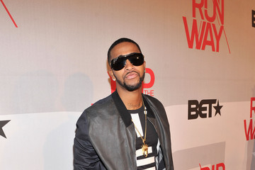Omarion Celebs at BET's Rip the Runway Show