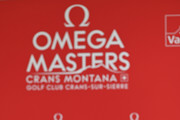 Rory McIlroy of Northern Ireland speaks to media during a press conference after the pro-am prior to the start of the Omega European Masters at Crans Montana Golf Club on August 28, 2019 in Crans-Montana, Switzerland.
