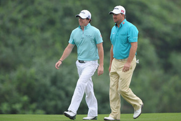 Rory McIlroy Graeme McDowell Omega Mission Hills World Cup - Day Four