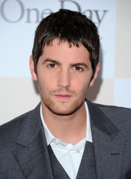 "Actor Jim Sturgess poses for a photo on the red carpet at the ""One Day"" premiere at the AMC Loews Lincoln Square 13 theater on August 8, 2011 in New York City."
