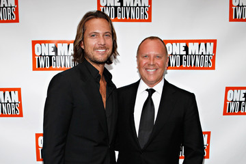 """Michael Kors Lance Le Pere """"One Man, Two Guvnors"""" Broadway Opening Night - Arrivals & Curtain Call"""