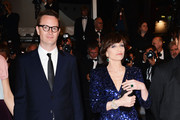 Nicolas Winding Refn (L) and actress Kristin Scott Thomas attend the 'Only God Forgives' Premiere during the 66th Annual Cannes Film Festival at Palais des Festivals on May 22, 2013 in Cannes, France.