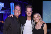 Live Nation's President of Country Touring Brian O'Connell, Tyler Hubbard of musical duo Florida Georgia Line and Hayley Hubbard attend the 2018 Inspire event by The Onsite Foundation at Marathon Music Works on October 23, 2018 in Nashville, Tennessee.