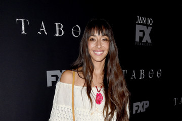 Oona Chaplin Premiere Of FX's 'Taboo' - Red Carpet