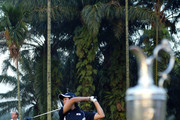 Chang Won Han of South korea tees off on the 1st tee during Asian International Final Qualifying for The Open at Saujana Golf and Country Club on March 11, 2010 in Kuala Lumpur, Malaysia.