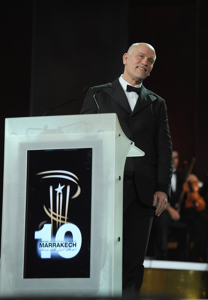 Actor John Malkovich attend the Opening Ceremony of the Marrakech 10th International Film Festival on December 3, 2010 in Marrakech, Morocco.