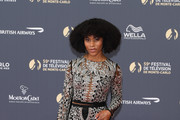 Kelly McCreary attends the opening ceremony of the 59th Monte Carlo TV Festival on June 14, 2019 in Monte-Carlo, Monaco.