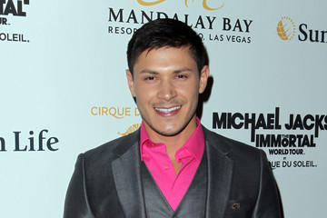 Alex Meraz Opening For Cirque du Soleil's Michael Jackson THE IMMORTAL World Tour - Arrivals