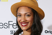 Cynthia Addai-Robinson arrives to opening night of SeriesFest: Season 3 at Red Rocks Amphitheatre on June 27, 2017 in Morrison, Colorado.