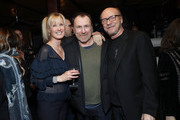 Deborah Rennard, Colin Quinn and Paul Haggis attend the opening night after party for Colin Quinn: Red State Blue State on January 22, 2019 in New York City.