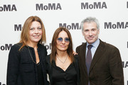 (L-R) Camilla Cormanni, director Maria Sole Tognazzi and MoMA film curator Josh Siegel attend the opening night of The Museum of Modern Art and Luce Cinecitta's Ugo Tognazzi: Tragedies of a Ridiculous Man Retrospective at MoMA on December 5, 2018 in New York City.
