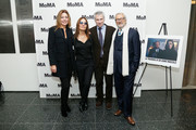 (L-R) Camilla Cormanni, director Maria Sole Tognazzi, MoMA film curator Josh Siegel and actor Robert Cicutto attend the opening night of The Museum of Modern Art and Luce Cinecitta's Ugo Tognazzi: Tragedies of a Ridiculous Man Retrospective at MoMA on December 5, 2018 in New York City.