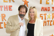 """Actors Sherie Rene Scott and Kurt Deutsch attend the opening night of """"Peter And The Starcatcher"""" on Broadway at The Brooks Atkinson Theatre on April 15, 2012 in New York City."""