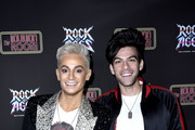 "Frankie Grande and Hale Leon attend Opening Night Of ""Rock Of Ages"" Hollywood at The Bourbon Room on January 15, 2020 in Hollywood, California."