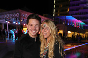 Nico Santos and Loona attend the re-opening of ROBINSON Club Jandia Playa on December 04, 2018 in Fuerteventura, Spain.