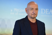 """Sir Ben Kingsley attends a photocall for """"Operation Finale"""" on September 8, 2018 in Deauville, France."""
