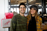 Actor Darren Criss and Mia Swier attend the Operation Smile 8th Annual Park City Ski Challenge presented by Poly, St Regis Deer Valley & Deer Valley Resort at The St. Regis Deer Valley on March 23, 2019 in Park City, Utah.