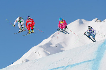 Ophelie David FIS Freestyle Ski World Cup: Men's and Women's Ski Cross