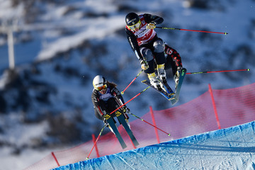 Ophelie David FIS Freestyle Ski World Cup - Men's and Women's Ski Cross