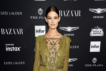 Ophelie Guillermand Harper's BAZAAR Celebrates 'ICONS' At The Plaza Hotel