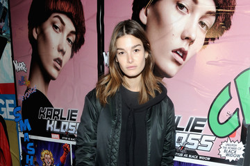 Ophelie Guillermand Marvel and Garage Magazine New York Fashion Week Event