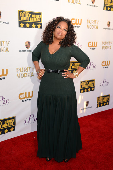 Oprah Winfrey - Arrivals at the Critics' Choice Awards — Part 2