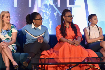 Oprah Winfrey Ava DuVernay 'A Wrinkle In Time' Press Conference