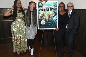 Oprah Winfrey Ava DuVernay PEOPLE Celebrates Disney's 'A Wrinkle In Time' At Per Se In NYC
